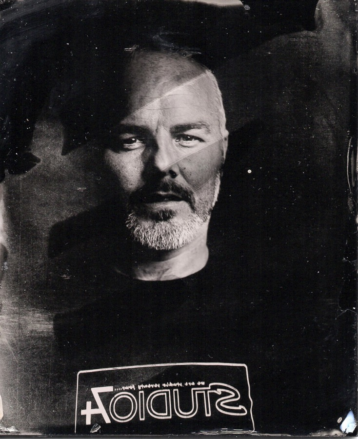 Wet plate collodion portrait